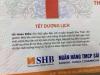 Cục Xuất bản sẽ xử phạt bộ lịch của ngân hàng SHB