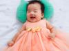 Con gái Xuân Lan đáng yêu, cười như 'nắc nẻ'