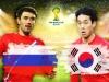 Tỷ lệ kèo, nhận định, dự đoán trận Nga vs Hàn Quốc - World Cup 2014