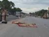 Xe tải tông xe máy, 2 người tử vong tại chỗ