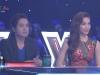 Thu Thủy ấp úng làm MC trong đêm trực tiếp đầu tiên 'X-Factor Việt 2014'