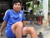 Chàng sinh viên đi bộ 700 km xuyên miền Trung để về nhà