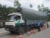 Xe 'siêu khủng' chở gỗ bị bắt giữ