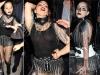Lady Gaga diện tắt rách, mặc váy khung thép