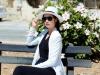 Hoa Hậu Ngọc Hân khoe chân dài rạng rỡ tại Châu Âu