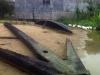 Phát hiện chiếc mỏ neo gỗ khổng lồ dài 8m dưới biển