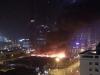 Cháy lớn gần tòa nhà Keangnam cao nhất Việt Nam
