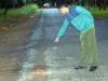 Sát hại người đàn ông đi chung xe với người yêu cũ