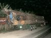 Xe tải chở 42 tấn gỗ, gấp 4 lần cho phép