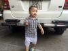 Bé trai 2 tuổi được mẹ nuôi dưỡng trước khi bị bỏ rơi trên taxi