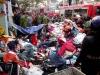 Cảnh tượng hoang tàn sau vụ cháy lớn tại chợ Nhật Tân