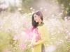 Á hậu Huyền My tươi như hoa giữa ngàn sắc xuân