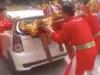 Giải mã kiệu 'bay' húc vỡ kính ô tô ở Hà Nội