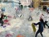 Thế giới hưởng ứng lễ hội đánh nhau bằng gối để giảm stress