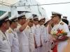Hạm trưởng Mỹ gốc Việt đưa tàu chiến Mỹ cập cảng Tiên Sa