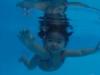 Xuân Lan tung clip khoe con gái 17 tháng đã bơi lội điêu luyện