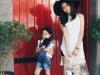 Thời trang dạo phố cực xinh của Lưu Hương Giang và con gái