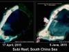 Biển Đông: Trung Quốc bồi đắp đá Subi được 74\%