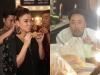 Thu Minh, Quang Dũng ăn vội trước giờ lên sóng Vietnam Idol 2015