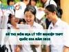 Đề thi tốt nghiệp THPT quốc gia môn Địa lí năm 2015