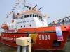 Cảnh sát biển tiếp nhận tàu hiện đại lần đầu tiên đóng tại Việt Nam