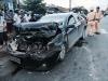 Khởi tố vụ lái xe Camry biển số giả, chở ngà voi, gây tai nạn liên hoàn