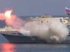 Video: Chiến hạm Nga phóng hỏng tên lửa trong Ngày Hải quân