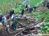 Sạt lở núi ở Cao Bằng, 3 người mất tích và 5 người bị thương