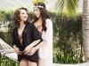 Mẹ Hoa hậu Kỳ Duyên lần đầu khoe dáng nóng bỏng cùng con gái