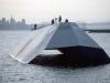 Lộ diện chiến hạm tàng hình tuyệt mật đầu tiên của Mỹ