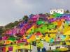Mexico: Bức tranh tường khổng lồ được tạo nên từ 209 căn nhà