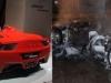 Con trai đốt siêu xe 5 tỷ để đòi bố mua xe mới