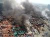 Vụ nổ Thiên Tân Trung Quốc: 'Hàng trăm tấn cyanide' trữ ở hiện trường