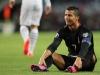 Video: Ronaldo 'nóng mặt' khi CĐV Albania gọi tên Messi