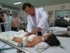 Bé 2 tuổi có bướu nặng 1,3kg trong gan đã được phẫu thuật thành công