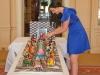Bánh sinh nhật gắn 4.000 viên kim cương giá 75 triệu đô