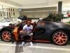 Cựu võ sĩ đấm bốc khoe siêu xe 77 tỷ đồng