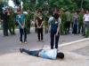 Công an bị ném đá tử vong: Nghìn người dân xem thực nghiệm hiện trường