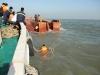 Tạm dừng tìm kiếm nạn nhân mất tích vụ chìm tàu trên sông Soài Rạp