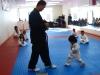Chết cười với em bé học Taekwondo