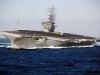 Siêu tàu sân bay Mỹ bị tàu ngầm Trung Quốc lén bám sát