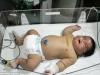Bà mẹ sinh thường bé trai 7kg trong 15 phút