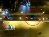 Clip: Tài xế taxi hoảng loạn nhảy khỏi cầu sau tai nạn