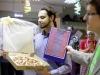 Kỳ lạ chàng trai làm đám cưới với chiếc bánh Pizza