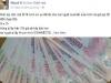 Bị 'sờ gáy' vì rao tiền giả trên Facebook