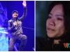 Vợ Trần Lập ngấn nước mắt cổ vũ chồng 'bùng cháy' trên sân khấu