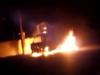 Video: Bố ôm con gái thoát khỏi ôtô bốc cháy trong đêm Valentine