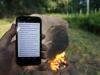 Hòn đá bí ẩn phát ra wifi khi châm lửa đốt