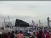 Vĩnh Phúc: Sân khấu nổi bất ngờ đổ sập, cả quảng trường náo loạn