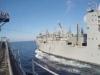 Video: Xem tàu chỉ huy Mỹ nhận tiếp tế trên Biển Đông